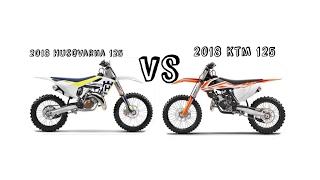 2. 2018 Ktm 125 vs 2018 Husqvarna 125