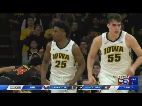 Hawkeyes look for BIG 10 Tournament win