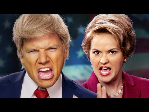 Epic Rap Battles of History Donald Trump vs Hillary
