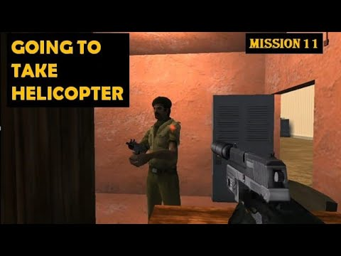 IGI2 COVERT STRIKE MISSION 11..GOING TO BACK PRIBOI HELICOPTER.. 🚁🚁🚁OLD SCHOOL GAMING ❤️