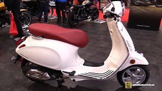 8. 2017 Vespa Primavera Scooter - Walkaround - 2017 Toronto Motorcycle Show
