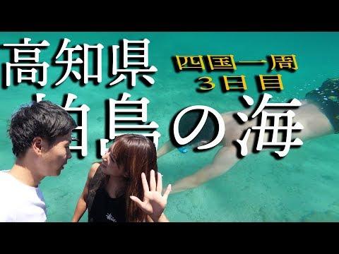 【四国一周】高知県柏島の海が綺麗すぎる