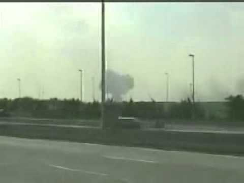 concorde crash video