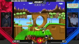 Last night's Colorado Smash: Just (Ike) vs Ace (C.Falcon) Match is what I live for.