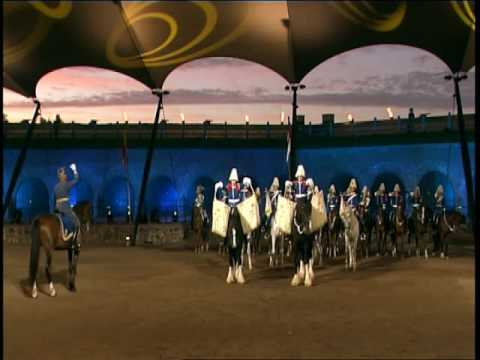 The Swedish Mounted Band of the Royal Lifeguards (видео)