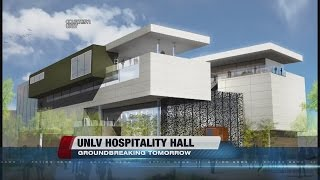 UNLV breaking ground on hospitality hall