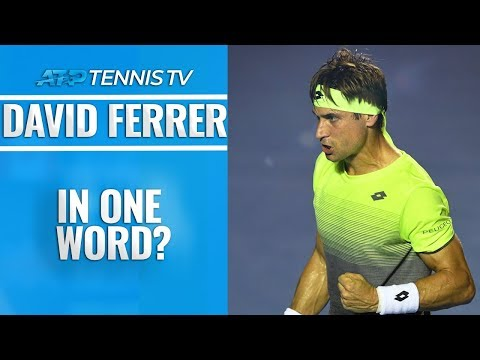 ATP Players Describe David Ferrer in One Word!