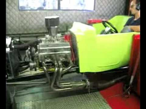 UTI T-Bucket Dyno Pulls