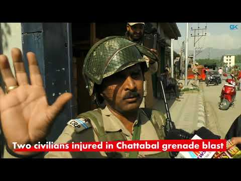 Two civilians injured in Chattabal grenade blast