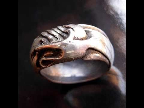 Beautiful and Unusual Silver Rings