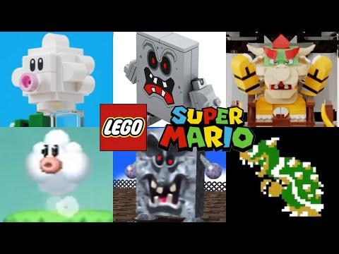 LEGO Super Mario: All Enemy Origins