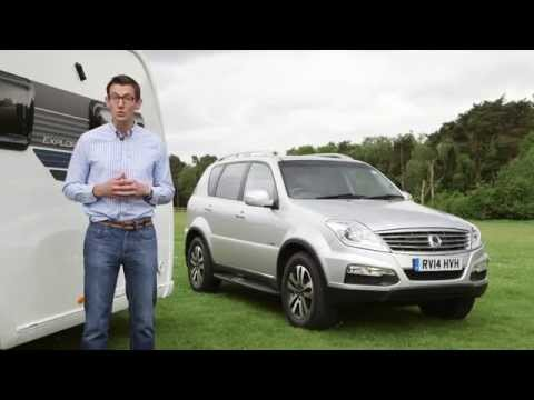 Practical Caravan reviews the SsangYong Rexton W