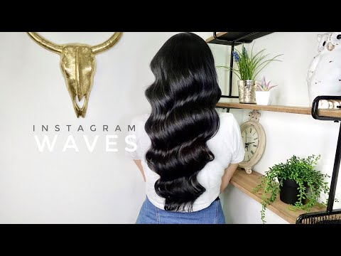 Hairdresser - How to Create Instagramable Vintage Waves Video