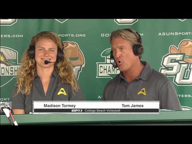ESPN3: 2017 ASUN Conference Beach Volleyball Championship - Match #7