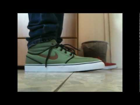 nike sb bonsai - Unboxing and review of the new coloway of the stefans. (oil \ Olive green) it has a 3M swoosh that i didnt knew about. the shoe is made out of canvas. there ...