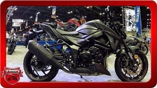 4. 2018 Suzuki GSX S750Z Motorcycle Walkaround AIMExpo 2016