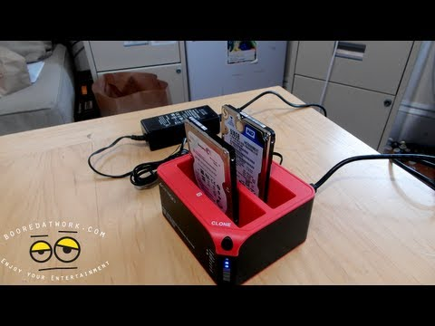 Cirago USB 3.0 SuperSpeed Dual Hard Drive Docking Station Review