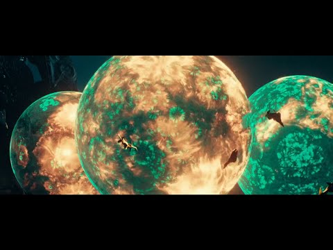 Entering into Alien Harvesting Mothership Clip (Independence Day: Resurgence)