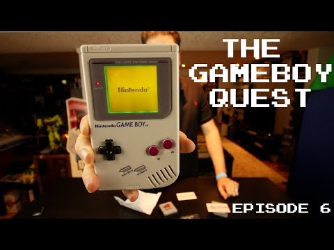 The Gameboy Quest - Episode 6 - 3 Packages, 12 Games..
