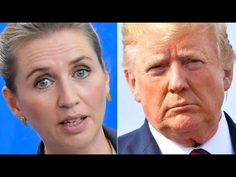 USA: Präsident Trump sagt geplanten Dänemark-Besuch ...
