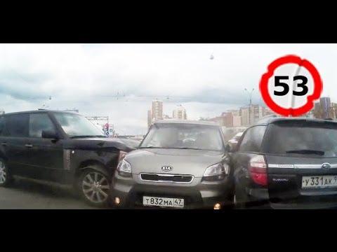 Подборка (нарезка) видео аварий (июль 2014)