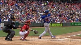Video 4/22/17: Cubs hit three homers in 12-8 win over Reds MP3, 3GP, MP4, WEBM, AVI, FLV Oktober 2017