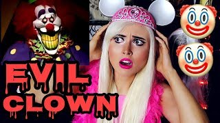 """Hire an evil clown to stalk you, send you scary texts and attack you for your Birthday! Scary!#TeamBrittyy44#BRITHERINSSUBSCRIBE! New videos every Monday, Wednesday and Friday!FOLLOW ME!http://facebook.com/Brittyy44http://twitter.com/Brittyy44http://instagram.com/Brittyy44Music: Kevin Macleodhttp://incompetech.com""""Gathering Darkness""""""""Ghost Story"""""""