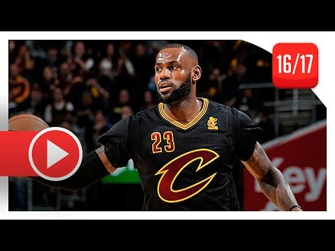 LeBron James Full Triple-Double Highlights vs Knicks (2016.10.25) - 19 Pts, 14 Ast, 11 Reb, CRAZY!
