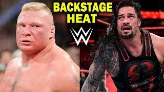 Video 10 WWE Wrestlers with BACKSTAGE HEAT in 2018 - Brock Lesnar, Roman Reigns & more MP3, 3GP, MP4, WEBM, AVI, FLV Juli 2018