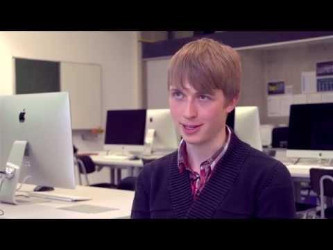 Studiert Medien- und Kommunikationsinformatik: Colin Weitmann