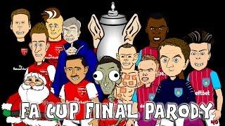 FA CUP FINAL 2015 RAP BATTLE! Arsenal vs Aston Villa 4-0 parody (football cartoon), Arsenal vs Aston Villa, Arsenal 4-0 Aston Villa, CHUNG KẾT FA CUP