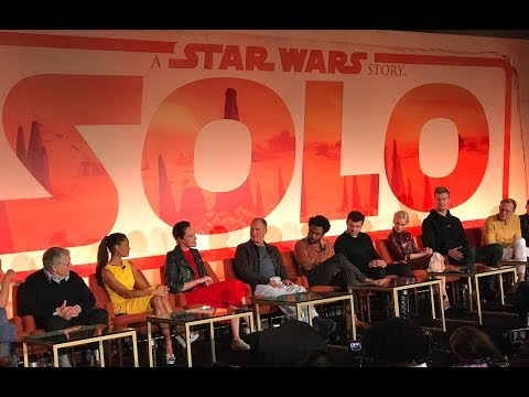 🍭 Solo: A Star Wars Story [Full Press Conference]