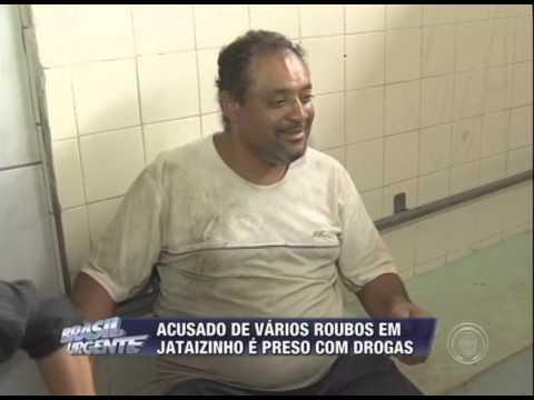 Acusado de vários roubos em Jataizinho é preso com drogas
