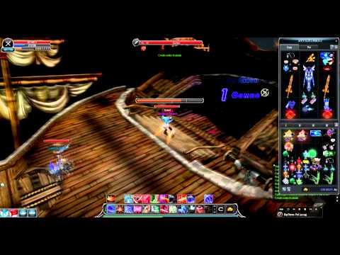 Cabal Online : Burned Vs. Royalty - PVP - MetalGirl Vs. Sortido1