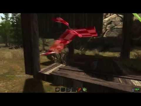 Рейд летающего деревянного дома вместе с LegaUfa [RUST]