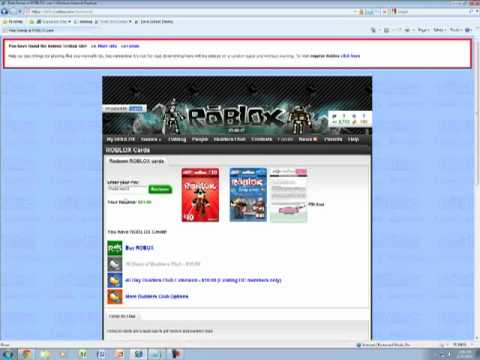 How To: Get free BC on ROBLOX site test