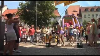 Frankenberg Sachsen Triathlon RRR Radeln - Rudern - Rennen Jährlicher Staffelwettbewerb im Rahmen des Frankenberger...