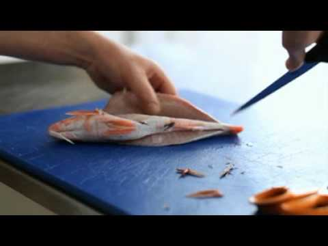 Filleting Red Mullet