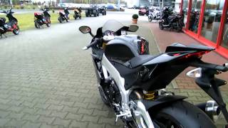 9. Aprilia RSV4 R  APRC -11 Motorrad schwarz Anleitung 2011