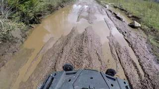 4. 2019 Cfmoto 800 Xc/ 2018 Cfmoto Zforce  on the trails of berlin New Hampshire May 26 2019