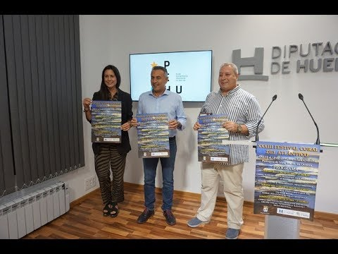 Presentación XXXIII Festival Coral del Atlántico de Isla Cristina.