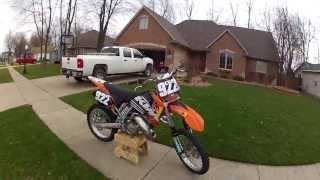 6. KTM 125 SX 2002 review/what to use to clean motocross bike