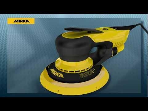 Mirka® DEROS650CV для различных шлифовальных операций