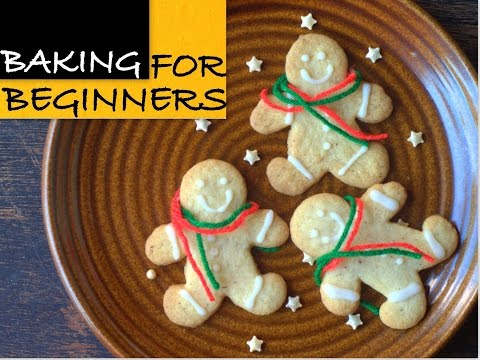Gingerbread Men With Easy Stir & Mix Roll Out Cookie Dough | Christmas Baking | Cakes And More