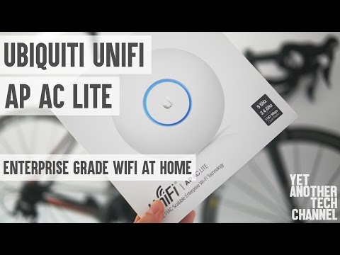 Ubiquiti UAP AC Lite review - installation, setup, roaming, performance tests