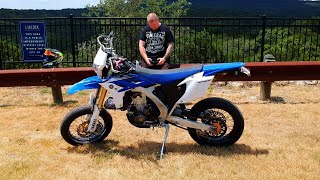 """This video features a good old fashioned motovlog through Hill Country roads to fly the DJI Spark and get some shots of the WR and awesome landscape.  A wheelie or two maybe...Links to everything I use below.My Bikes:2012 Yamaha WR450F Supermoto2015 Honda MSX125 Grom2008 DRZ400sm SupermotoDiamondback Viper 20"""" BMXMy Gear:Fly Racing MX Helmet: http://amzn.to/2rs2xpqFox Air Space Goggles: http://amzn.to/2so3BeZSpeed & Strength Gloves: http://amzn.to/2sKVkokForce Rider Kevlar Reinforced Riding Pants: eBay GoPro Hero4 Silver: http://amzn.to/2tfJU9kGoPro Hero Session: http://amzn.to/2rs2GJuSena 20s Bluetooth: http://amzn.to/2tfBfUrRAM Mount: http://amzn.to/2sGlkBFCanon T7i: http://amzn.to/2sLG2zlNeewer Ring Light: http://amzn.to/2sLunknUSB Charging Hub: http://amzn.to/2sGavPYCard Reader: http://amzn.to/2sG0ySj2 TB External HD: http://amzn.to/2sLlxCURGB Mechanical Keyboard: http://amzn.to/2sCRPQlJOBY Gorilla: http://amzn.to/2sGkzZlSD Card Case: http://amzn.to/2tCIKnAGET MY DECALS HERE:https://squareup.com/market/en187/justin-the-apparition****FOLLOW ME EVERYWHERE!!!****MY SOCIAL MEDIAS:INSTAGRAM: https://instagram.com/justintheappari...FACEBOOK: https://facebook.com/justintheapparitionTWITTER: https://twitter.com/apparitionvlogs****FOLLOW ME ON SNAPCHAT!!!!  """"APPARITIONSNAPS""""****LIKE, COMMENT, SHARE, SUBSCRIBE!!!MUSIC:Outro is: Rittz - Ghost StoryIntro is:  cKy - 98 Quite Bitter Beings(I do not own the copyrights to this music)**********************************************For Entertainment/Educational purposes only."""
