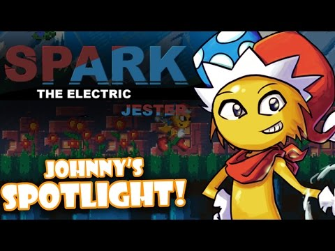 Johnny's SPOTLIGHT! - Spark the Electric Jester (видео)