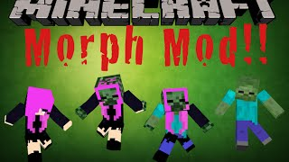 Minecraft PC: Morph Mod Walkthrough | Morph and Shape Shift into Any Mob You Want!