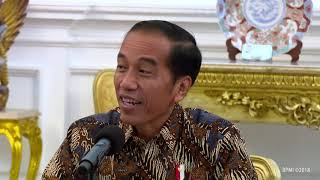 Video Menerima Kontingen Timnas Sepakbola Indonesia U 16  Istana Merdeka, 4 Oktober 2018 MP3, 3GP, MP4, WEBM, AVI, FLV Oktober 2018