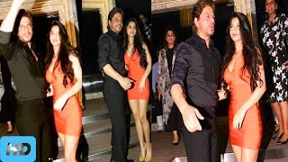 """►►Shah Rukh Khan's Daughter Suhana Is The Star Of Gauri's Party-ZST MEDIA►►Actor Shah Rukh Khan's wife Gauri Khan  hosted a lavish launch party for Mumbai's restaurant ARTH, which has been designed by her. The opening of the restaurant was a star-studded affair with Bollywood celebrities like Anil Kapoor, Arjun Kapoor, Sonam Kapoor, Karan Johar, Farah Khan, Sidharth Malhotra, Alia Bhatt and Malaika Arora in attendance. However, Shah Rukh Khan stole the spotlight as he walked in with his daughter Suhana, who looked stunning in an orange bandage dress. The father and daughter duo were seen happily posing for the cameras. Shah Rukh Khan's elder son Aryan was missing from the event as he is currently studying in California .As per reports, SRK's girl Suhana tries to be a performing artist like her dad Shah Rukh Khan. In a meeting to Femina , the on-screen character talked about the acting aspiration of the 17-year-old and said that 'she can act, yet she needs to ponder first.' """"She can be an on-screen character on the off chance that she has the energy and guts to work five times harder than me and get paid 10 times short of what I do, if times don't change for ladies performers. I have just a single command where she's concerned: she can act, however she needs to examine first,"""" Femina cited Shah Rukh Khan as saying. Photo Credit : Photographs : Pradeep Bandekar►►Subscribe """"ZST MEDIA"""" For Latest News: http://bit.ly/2oRFwx6►►""""ZST MEDIA"""" Social Sites✓Social Media :►Like Our Facebook Page  : http://bit.ly/2oxxwhu►Subscribe : http://bit.ly/2oRFwx6►►My More Videos Here : ► After Sonu Nigam's comments, Priyanka Chopra's old video praising azaan goes viral : http://bit.ly/2oxUc0R► Sonu Nigam shaves head, asks cleric to pay Rs 10 lakh :http://bit.ly/2p3y8iP►Dangal-Aamir Khan-film-to release in-China-next month -Will it sweep even Chinese box office : http://bit.ly/2pZB5xZ► Justin Bieber-And-Faded-singer-Alan Walker-will-perform-in-Mumbai : http://bit.ly/2oZhoHg►Ranveer Singh –"""